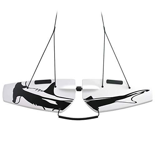 Subwing – Vuela bajo el Agua – Tabla remolcada por Barco – Alternativa al esquí acuático, flotadores voladores y flotadores de Arrastre – El Mejor Accesorio para Barcos