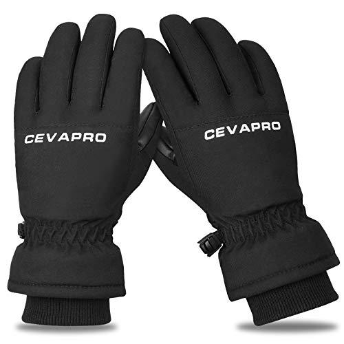 Yobenki Ski Gloves,Winter Waterproof...