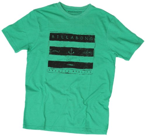 BILLABONG Sea dignes Men's T-Shirt XL - Vert chiné