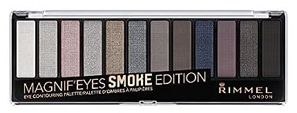 Rimmel London Magnifeyes Palette Smokey Edition Tono 3 - La Mejor Paleta de Sombra de Ojos Barata