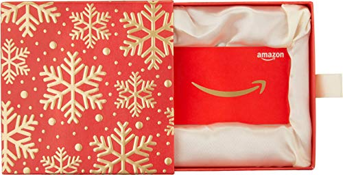 Amazon.com Gift Card in a Premium Red and Gold Box