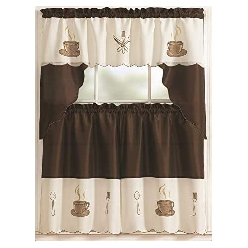 Coffee Kitchen Curtains Amazon Com