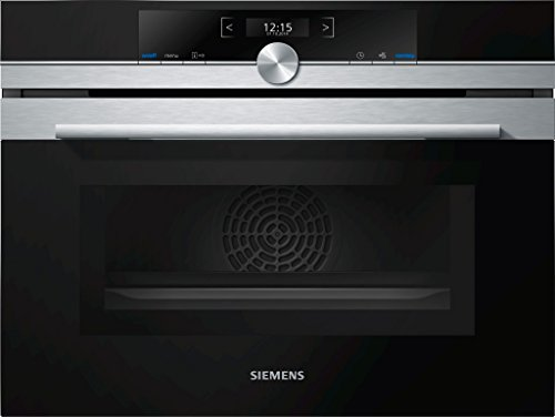 Micro ondes Combiné Encastrable Siemens CM633GBS1 - Micro-Ondes + Grill Intégrable Inox - 45 litres - 900 W