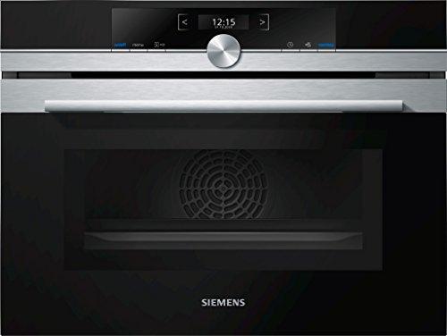 Siemens CM633GBS1 - Horno (Medio, 45L, Eléctrico, Integrado, Acero inoxidable, Botones)