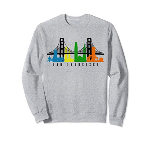 San Francisco California Kalifornien USA Amerika Souvenir Sweatshirt