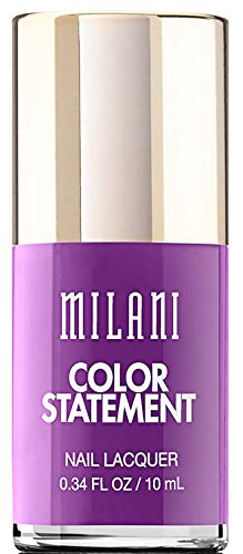 Milani Color Statement Nail Lacquer, 13 Ultra Violet, 0.34 fl. oz. by Milani