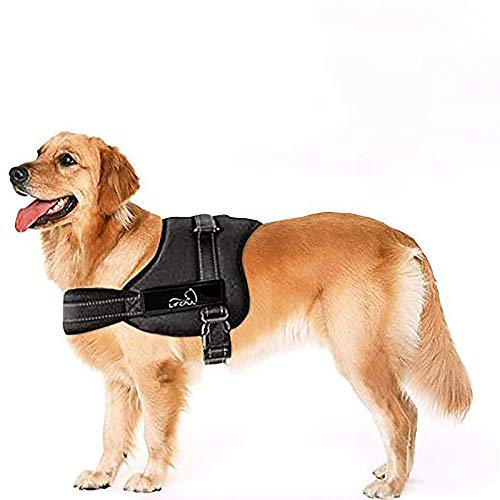 Lifepul No Pull Dog Vest Harness - Dog Body Padded Vest - Comfort Control for Large Dogs in Training Walking - No More Pulling, Tugging or Choking