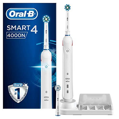 Oral-B Smart 4 4000N Weiß Elektrische Zahnbürste Powered By Braun