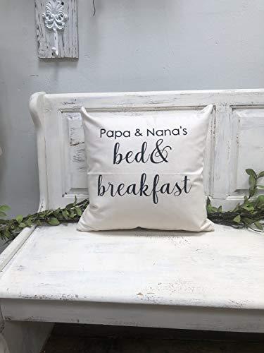 Alicert5II Papa Nanas Bed and Breakfast 18 Wooncultuur geschenk citaat kussensloop