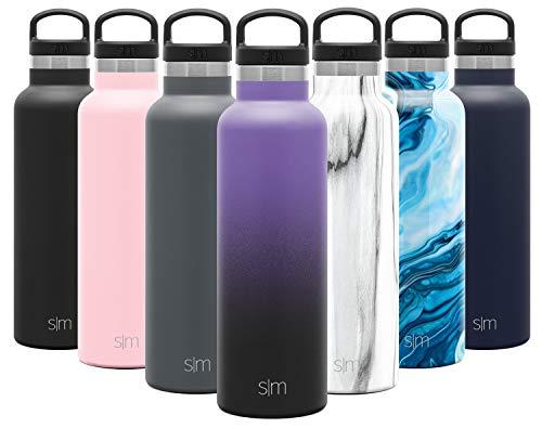 Simple Modern 590mL Ascent Borraccia Termica - Alluminio Bottiglia Acciaio Inox Flask Acqua Hydro 1 Litro Termos da Viaggio per Portatile Inossidabile Borracce Termiche