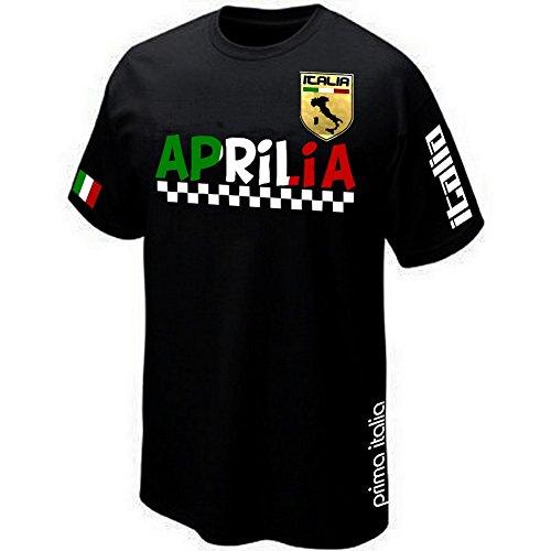 T-Shirt Aprilia Lazio Italia Italien - Gr. XL