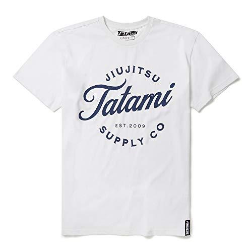 Tatami Fightwear Camiseta clásica con logotipo para hombre – gimnasio, entrenamiento, Jiu Jitsu, grappling, BJJ, MMA