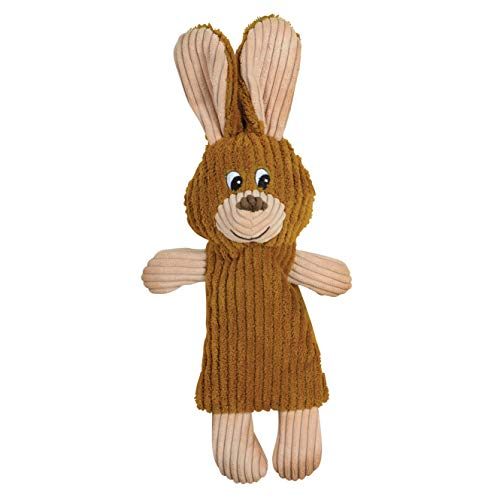 SmartPetLove Tender-Tuffs - Plush Bottle Toy - No Squeaker (Whisper Rabbit)