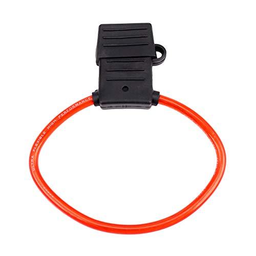 KU Syang 8 AWG Gauge MAXI Blade Fuse Holder Cable en LíNea...