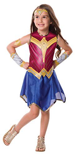 Rubie's Justice League Child's Wonder Woman Costume, Large