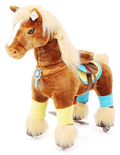 passend für Ponycycle Spirit Premium Serie - Medium - Schaukelpferd - Kuscheltier auf Rollen - Inline - Kinder - Pony - Reiten (Medium)