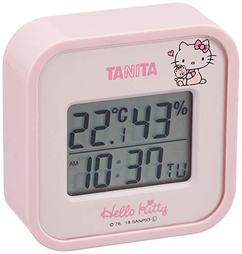タニタ デジタル温湿度計(ハローキティ) TT-558-KTPK 7.5×7.5cm