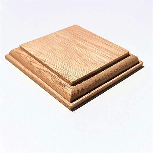 木製飾り台 正方形 ユーカリ 10mmX60mmX60mm P71
