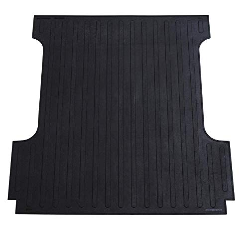 Westin Rubber Truck Bed Mat | 2019-2021 SIlverado/Sierra 1500 (5.5ft Bed) | 50-6465 | Black | 1 Pack