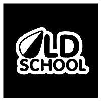 JDMステッカーカスタムステッカー 車の上の車のステッカー3 d古い学校のステッカー面白いステッカーとデカールビニールの装飾車のスタイリング (Color Name : Gold, Size : 1pcs)