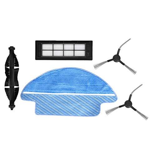 Ensemble brosse rotative latérale filtre balayeuse pièces pratiques accessoires de rechange adaptés pour Proscenic LDS M6 R2