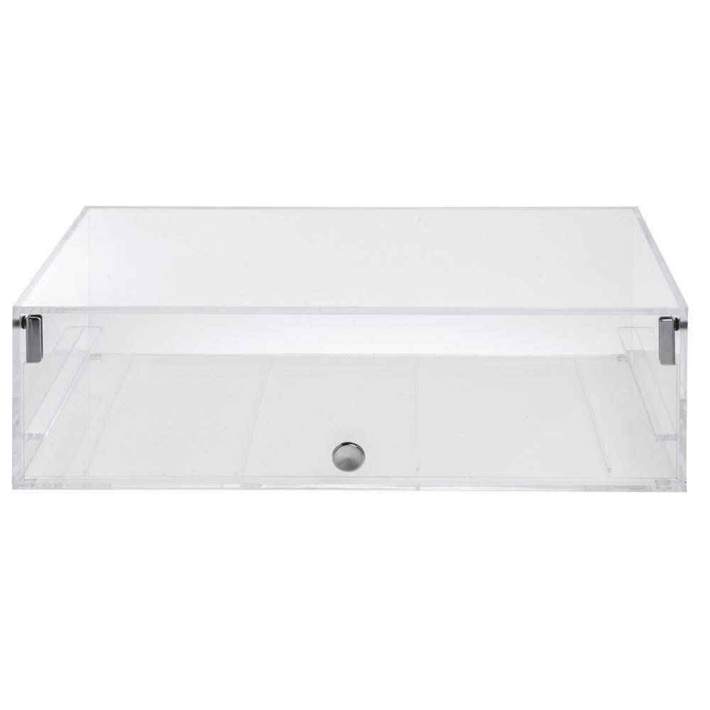 Hubert Self-Serve Pastry Case Single Clear 1 Elegant Acrylic Year-end gift 8