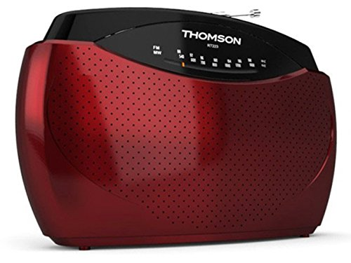 Radio portátil Thomson RT223 color rojo