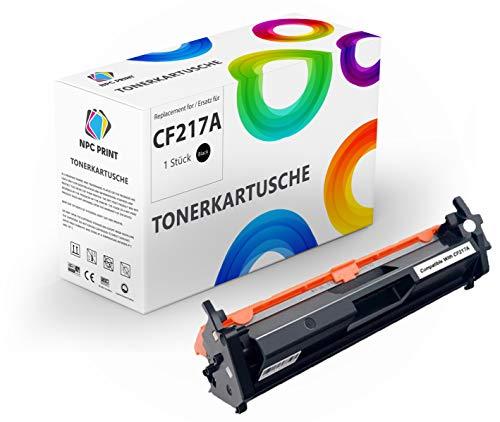 NPC PRINT Tóner sustituye a HP CF217A 17A, 1600 páginas, compatible con HP LaserJet Pro M102a, M102w, M130a, M130fn, M130fw MFP, M132a, M132fn, M132nw, Ultra M134a.