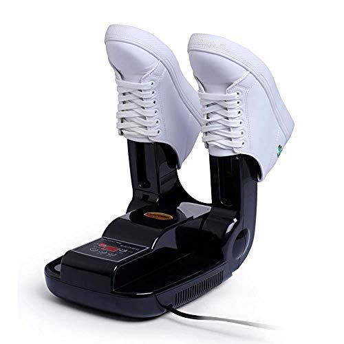 WANJIA Máquina de Secado Botas de Tiempo Plegables Guantes Esterilización con ozono Calcetín Inteligente Secadora Dispositivo de horneado eléctrico de Zapatos Secado rápido para Botas de esquí,Negro