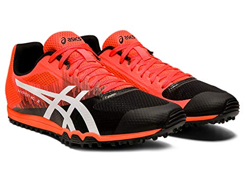 ASICS Unisex Hyper XC 2 Track & Field Shoes (Flash Coral/White, 7.5)