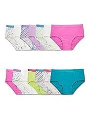 Extra soft Full seat coverage Plush, ravel-free waistband Tag free 100% Cotton liner