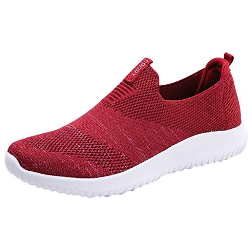 Vovotrade dames fitness loopschoenen sportschoenen veters running sneaker net gym schoenen