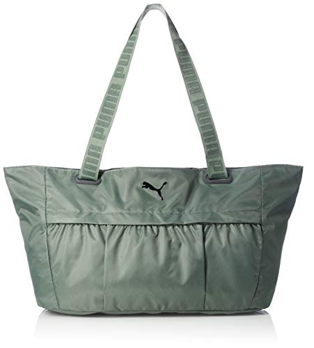 PUMA Damen at Workout Bag Tasche, Laurel Wreath/Gunmetal, OSFA
