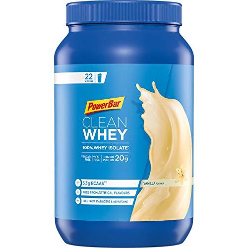 PowerBar Clean Whey 100% Isolate Vanilla 570g - High Protein Pulver - Whey Isolate