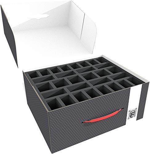 Feldherr Lagerbox kompatibel mit Miniaturen auf großer Base