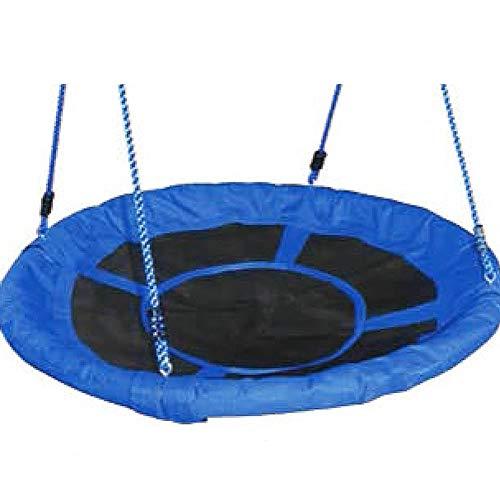 CXD Oscilación Redondo Nido, oscilación del jardín Gatos Azules diámetro Columpio Nido de pájaro oscilación Interior y Exterior jardín de Infancia Columpio de Juguete Preescolar,1