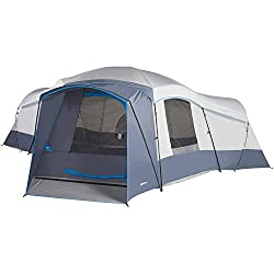 71cd8f436e This amazing camping tent is advertised to fit 16 people, but it is so  spacious, that you easily fit up to 20 people! With 3 doors and 3 rooms, ...