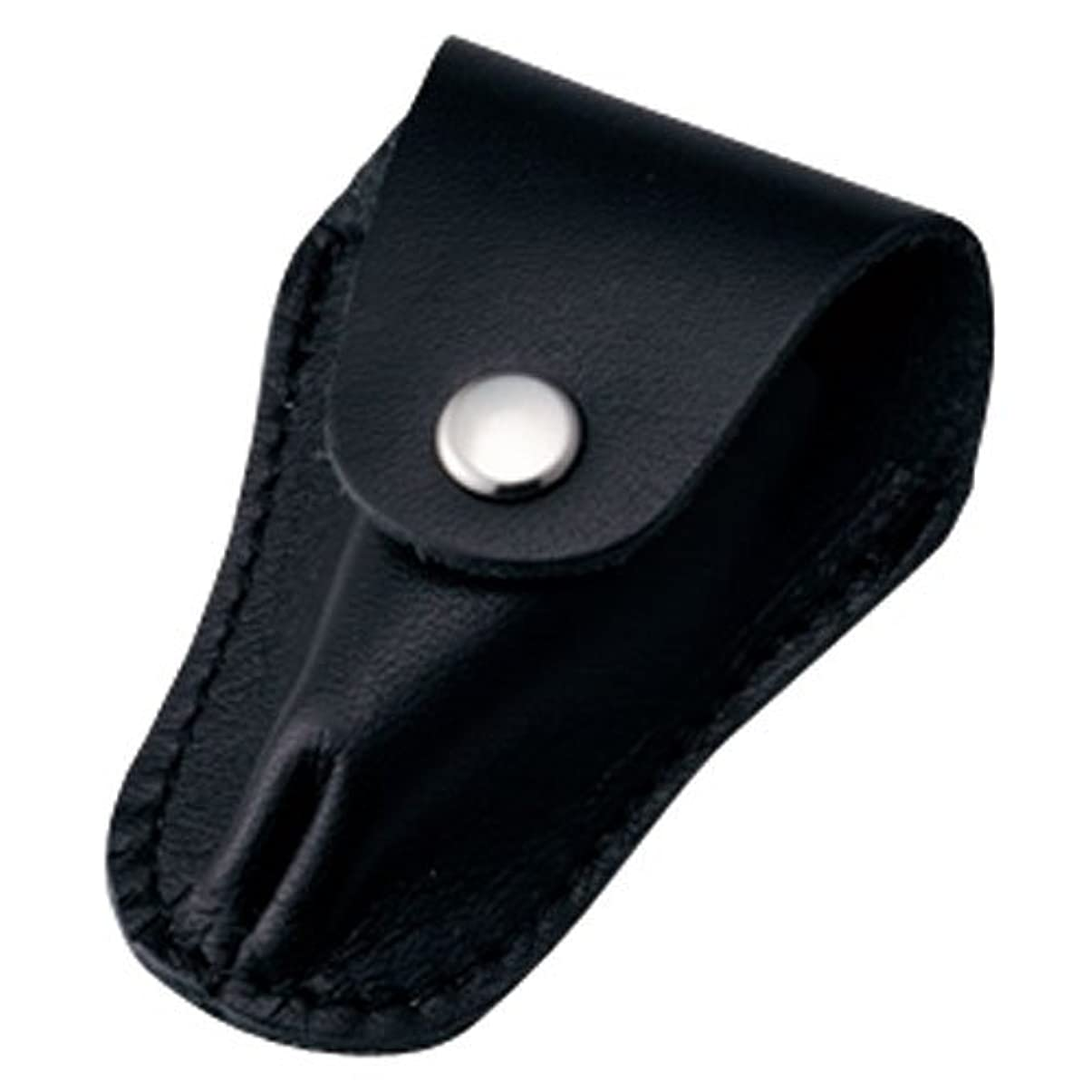 意欲ページホーム内海 ニッパーキャップL ブラック 本革製のキューティクルニッパー用刃先カバー