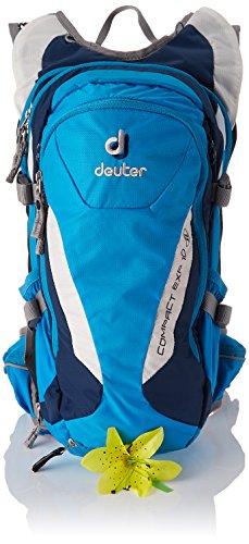 Deuter Damen Compact Exp 10 Slim Line Rucksack, Turquoise-Midnight, 19 x 21 x 42 cm, 12.5 Liter
