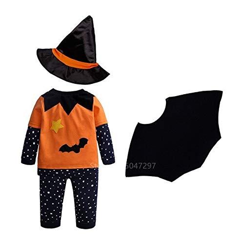 ZHANGHUI Trajes de Miedo Niños de Halloween de Disfraces, for Mujer de Disfraces de Halloween, los niños de Disfraces de Halloween (Color : Color1, Size : 2XL(Height 120cm))