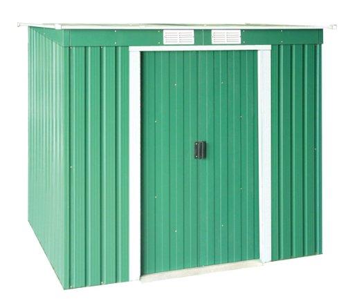 Tepro Duramax Metallgerätehaus Pent Roof mit Pultdach, Grün