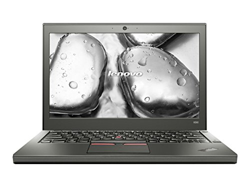 Product Image 1: Lenovo ThinkPad X250 20CM 12.5″ Ultrabook, 8 GB RAM, 256 GB SSD, Intel HD Graphics 5500, Black (20CM0048US)