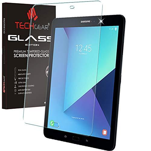 TECHGEAR Vetro Antiriflesso Compatibile con Samsung Galaxy Tab S3 9.7' (SM-T820 Series) - Autentica Pellicola Protettiva Opaca in Vetro Temperato