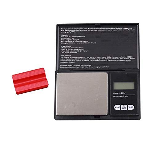 sharprepublic Balanza Digital inteligente de gramos de bolsillo para Flecha de tiro con, también báscula de alimentos, báscula de joyería, báscula de cocina,