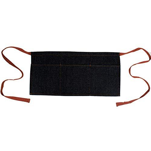 Coseyil Denim-Taillen-Schutzblech-haltbares Kaffeestube-Western-Restaurant-Arbeitskleidungs-Taillen-Schutzblech Mit 3 Taschen