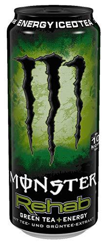 Monster Rehab Green Tea EINWEG, (1 x 0,5 l)