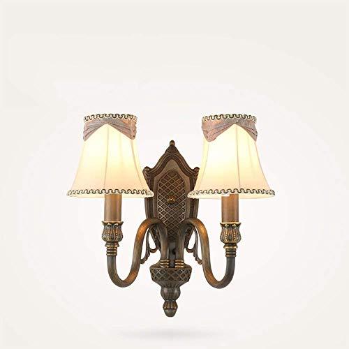 Lcxghs Applique Ambiance créative Salon Fond Lampe Murale Chambre Lampe de Chevet Couloir Aisle Lampe Murale 10,6 * 6.2