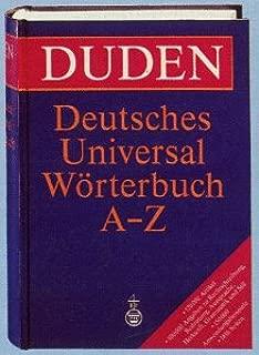 Duden: Deutsches Universal Worterbuch A-Z