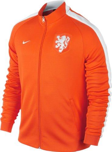 Nike Herren Jacke N98 Dutch Track Jacket, Orange, S