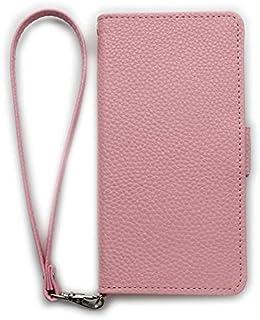 LG Disney Mobile on docomo DM-01G [KYOTO SAKURAYA][鏡有り] ピンク ストラップ サイドマグネット 手帳型 case スマホケース スマホ カバー ケース 携帯 ストラップ穴 カメラ穴 京都さくらや